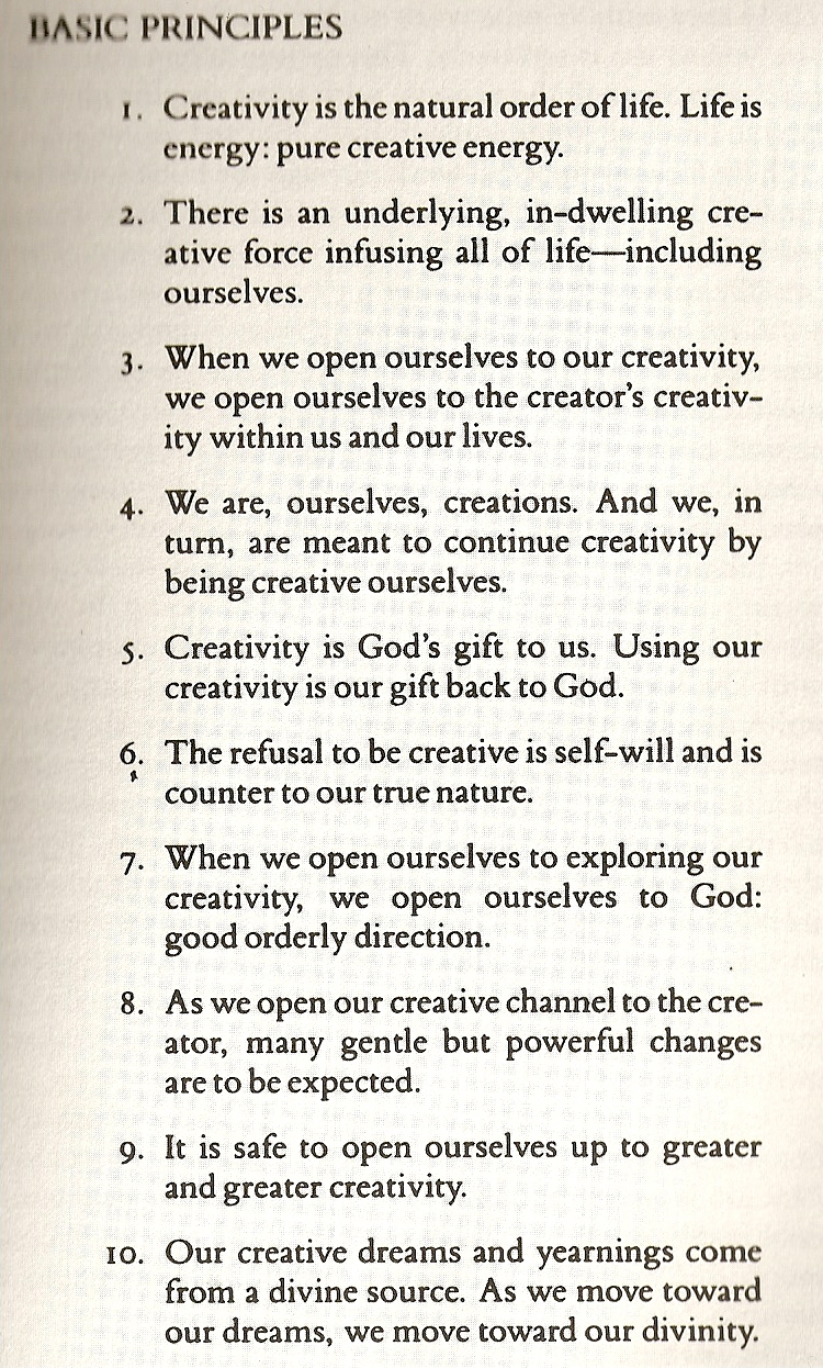 artists way julia cameron pdf