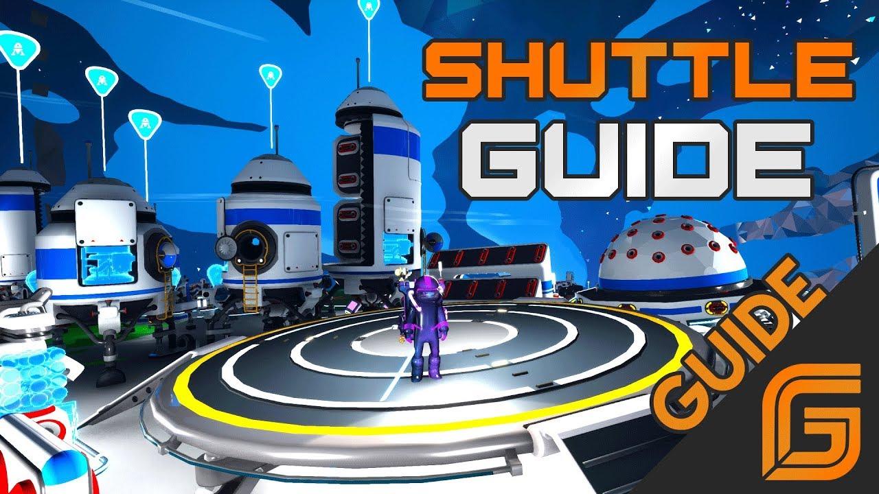 astroneer shuttle guide