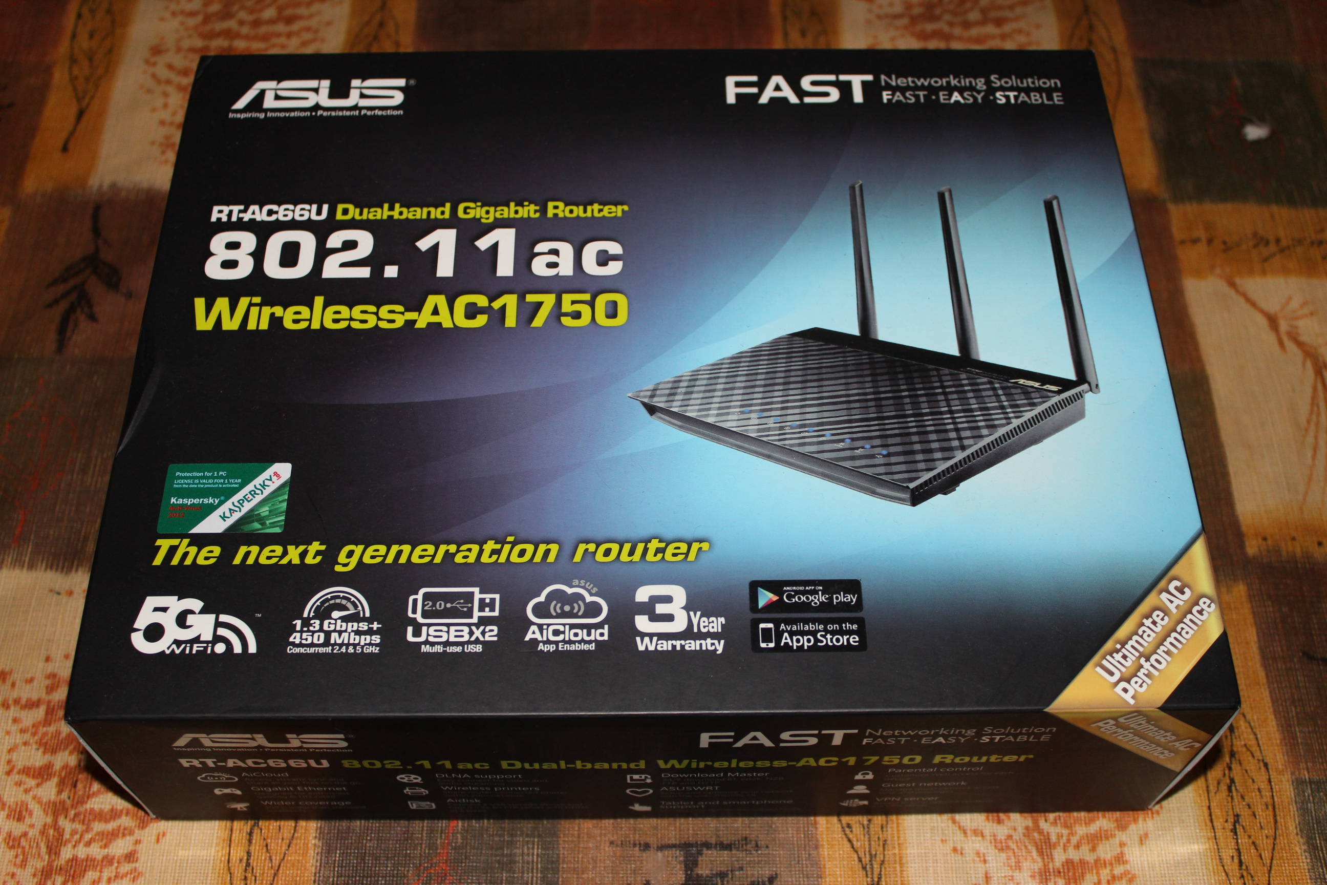 asus router rt n66u manual