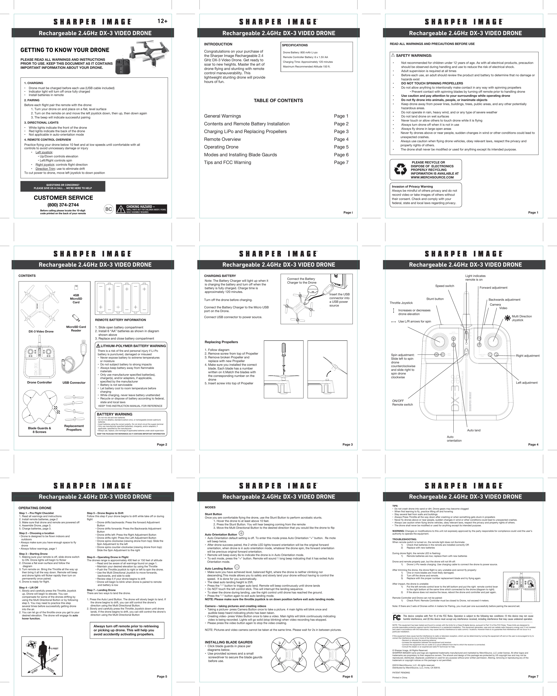 attop xt 1 drone manual