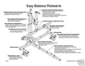 auto rotisserie plans pdf