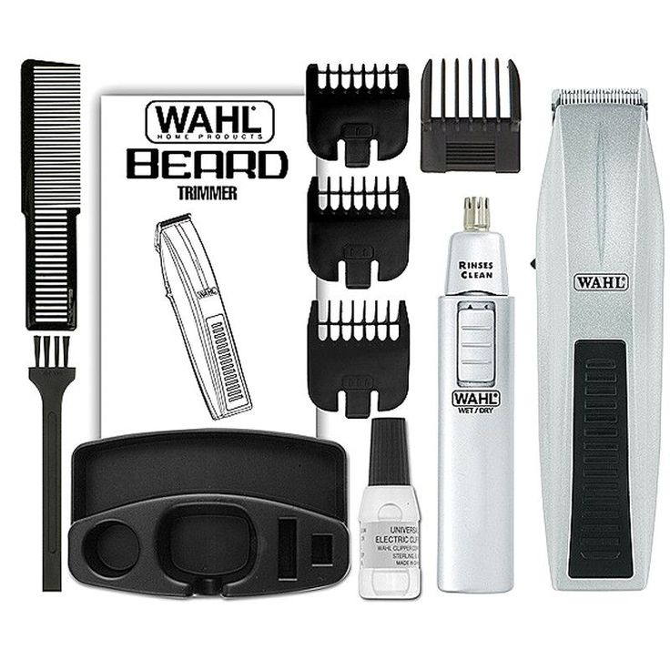 beard trimmer size guide