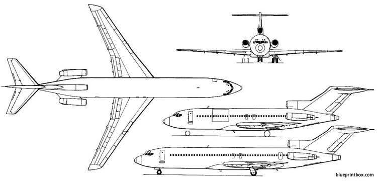 b727 performance and operating handbook