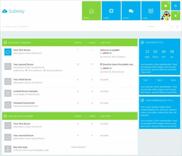 bootstrap sample page download