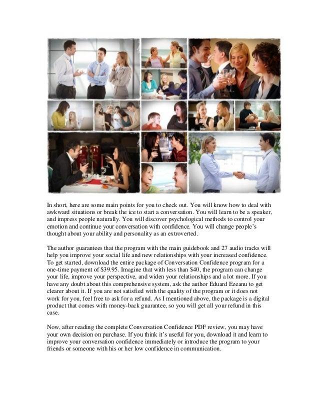 conversation confidence pdf