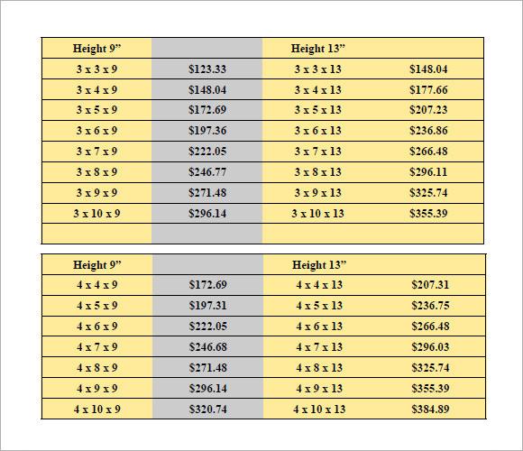 bangkok duty free price list pdf
