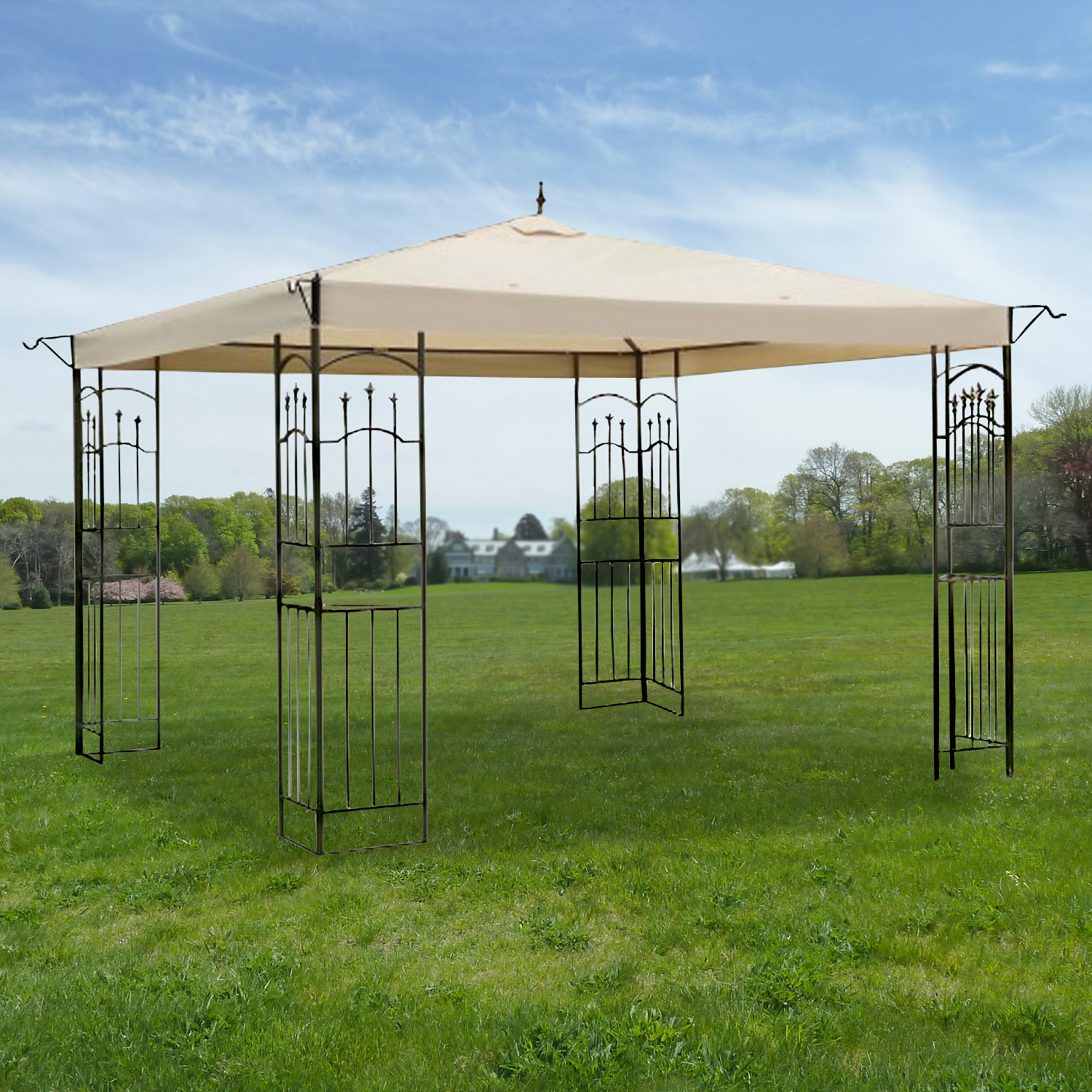 bed bath and beyond gazebo instructions