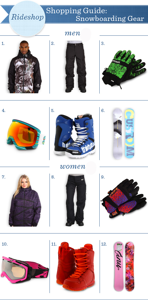beginners guide to snowboarding gear