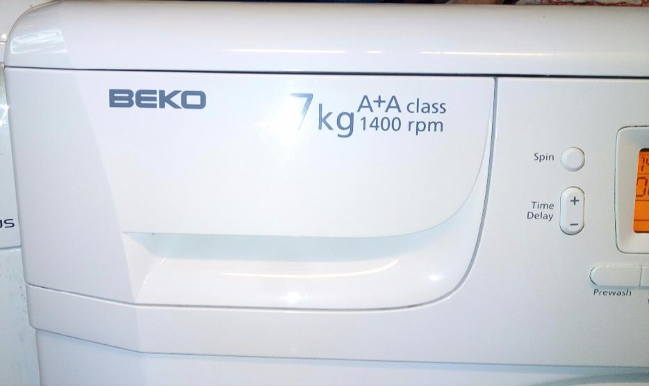 beko 7kg washing machine manual