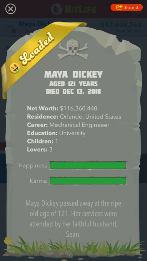 bitlife best life and legacy guide