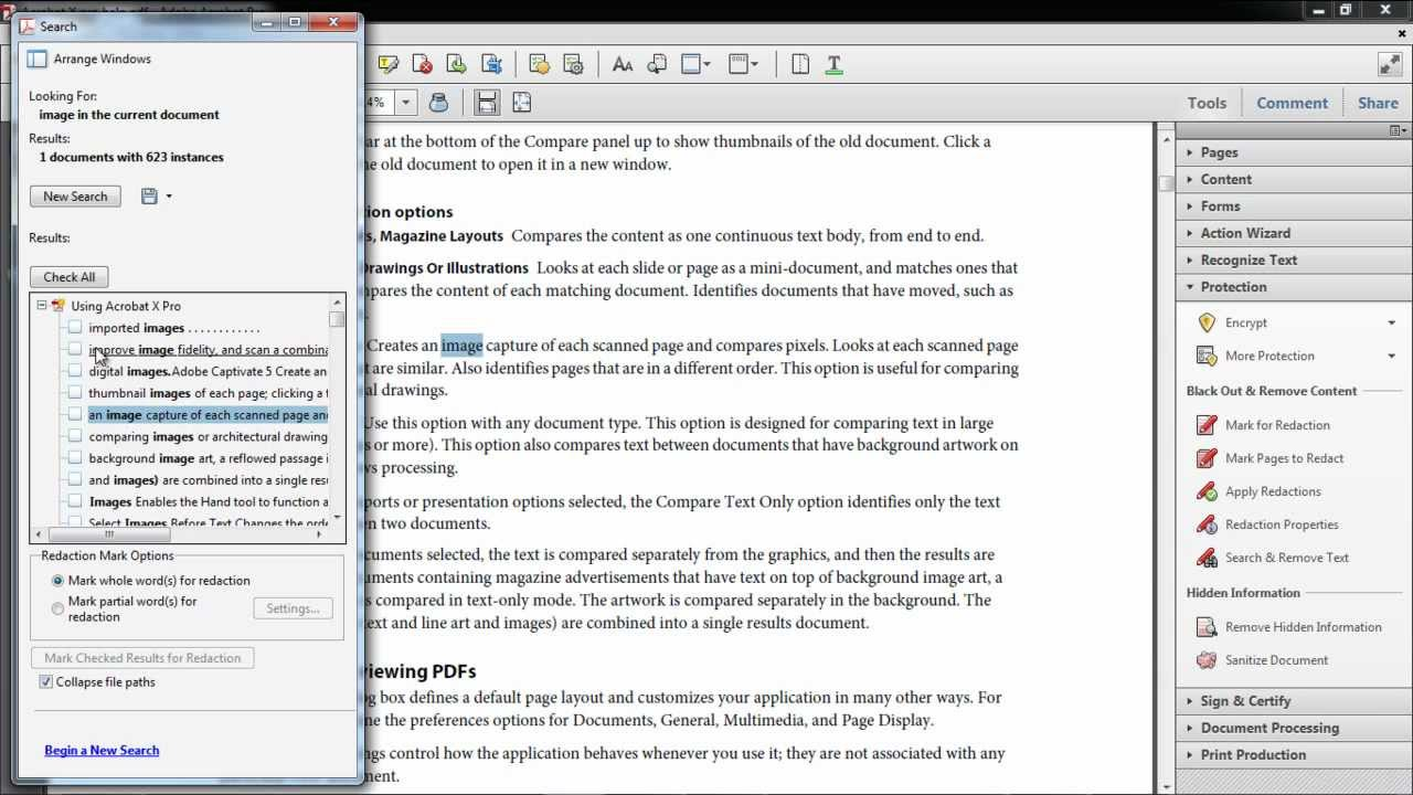 blur out words on pdf