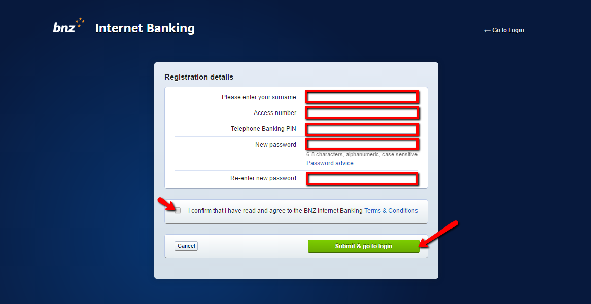 bnz bank account application