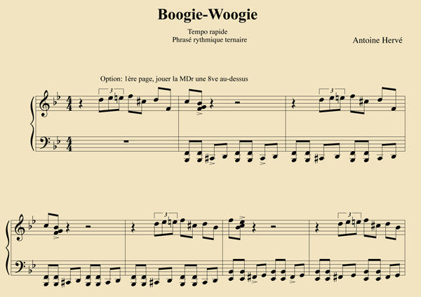 boogie woogie piano pdf
