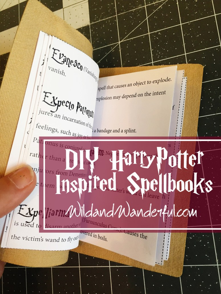 book of spells harry potter pdf