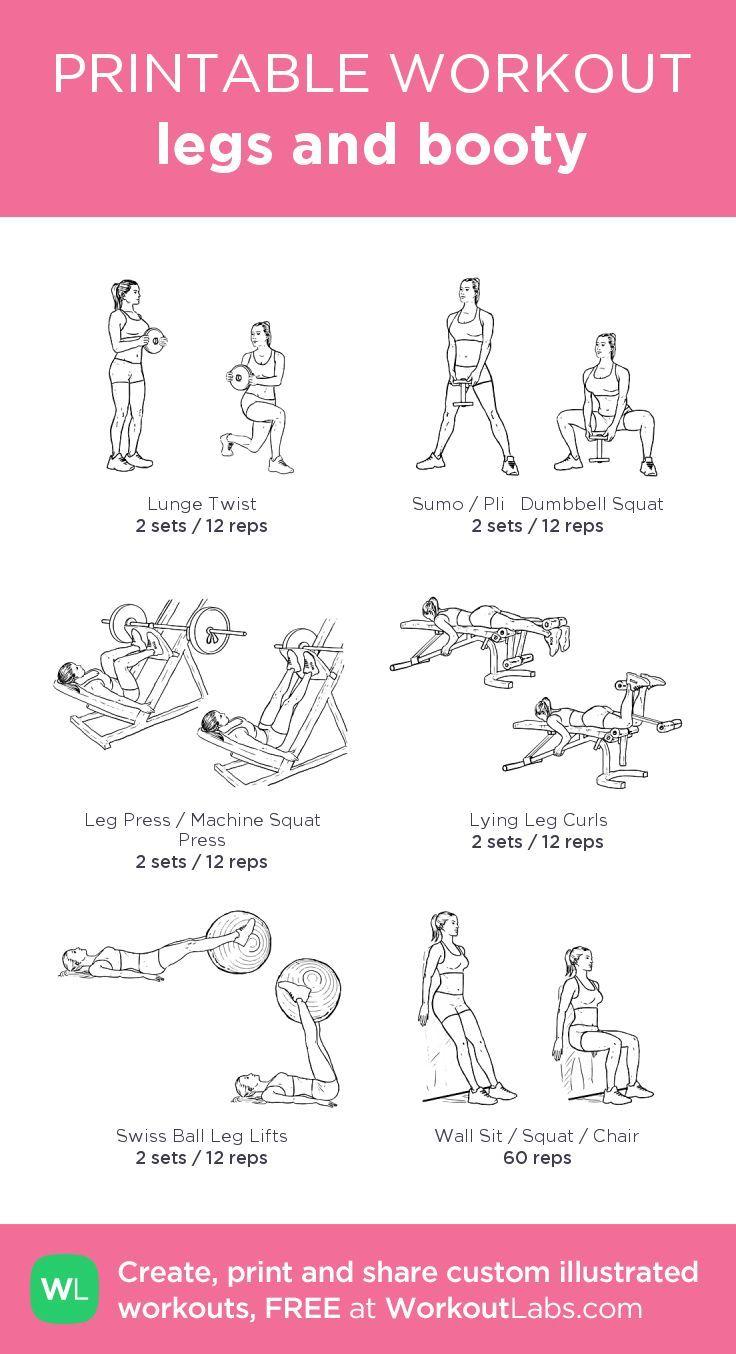 booty workout plan pdf