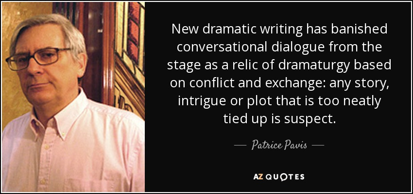 bourgeois theatre dictionary of the theatre patrice pavis