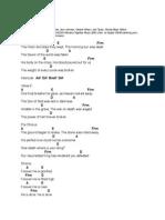 break every chain chords pdf