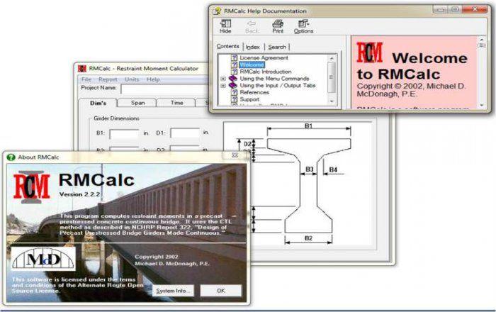 bridgemans concrete software application