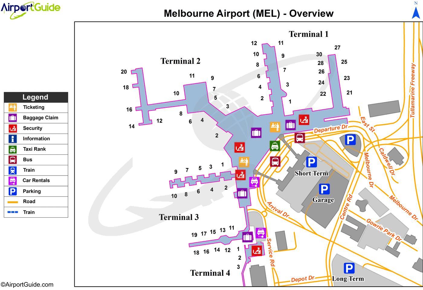 brisbane airport map pdf