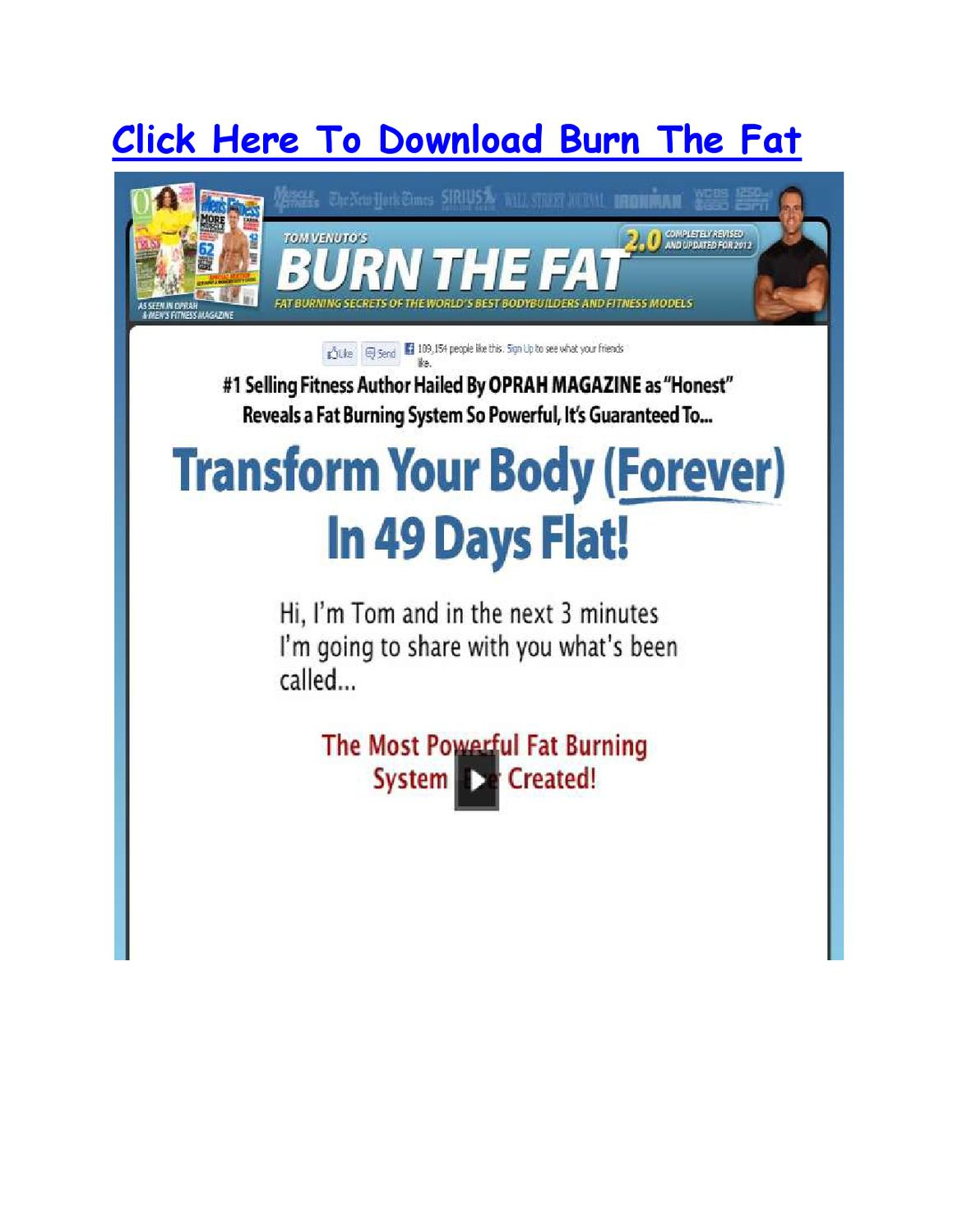 burn the fat feed the muscle pdf