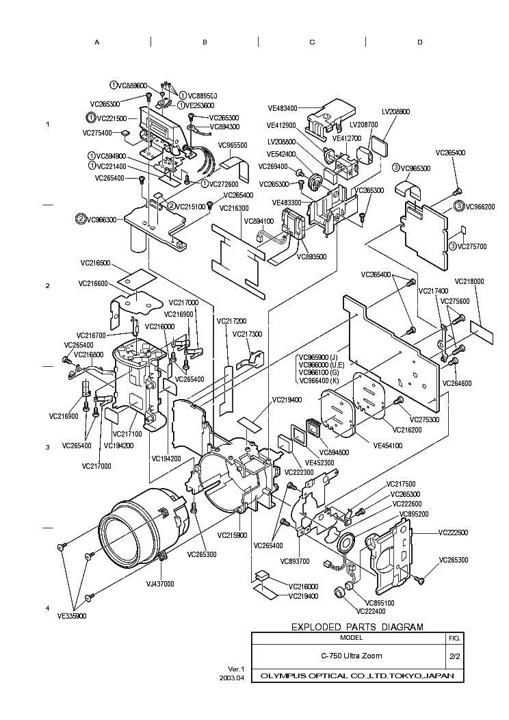 c-770 ultra zoom repair manual