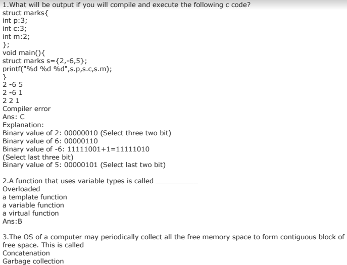 c programming mcq with answers pdf