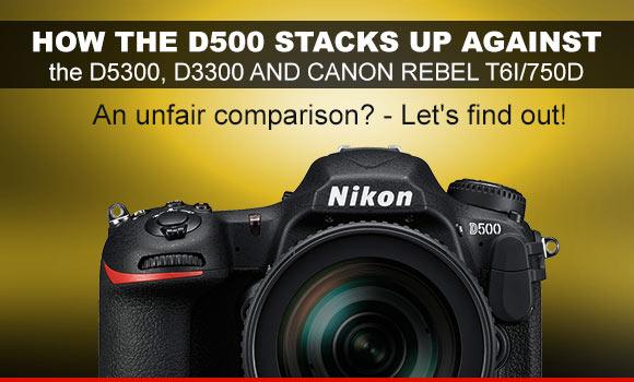 canon 750d vs nikon d5300 sample images