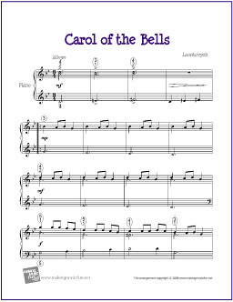carol of the bells piano pdf