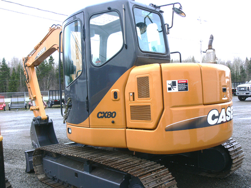 case cx80 tractor manual