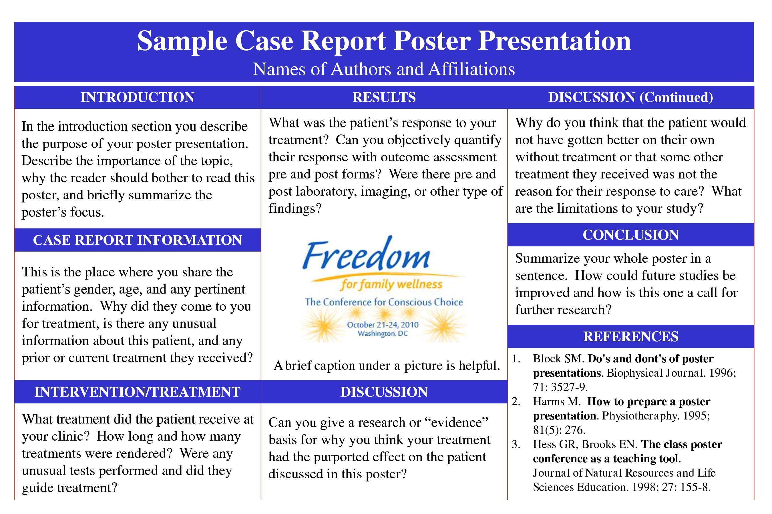 case study report example pdf
