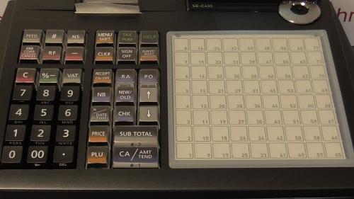 casio cash register se-c450 manual