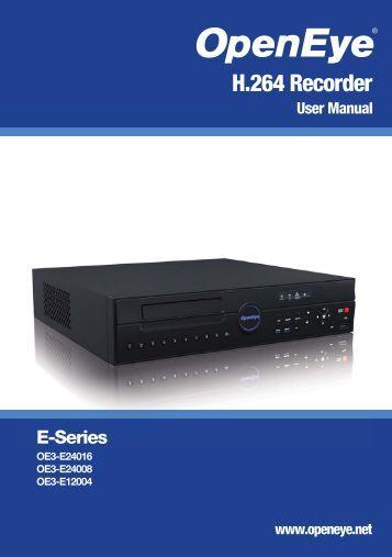 cav 8ch dvr user manual