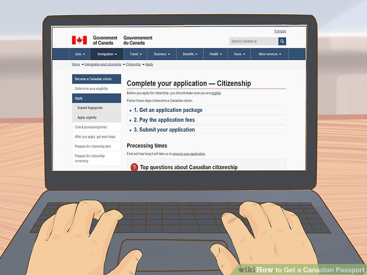 check passport application status canada