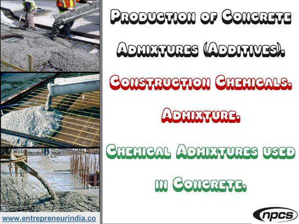 chemical admixtures used in concrete pdf