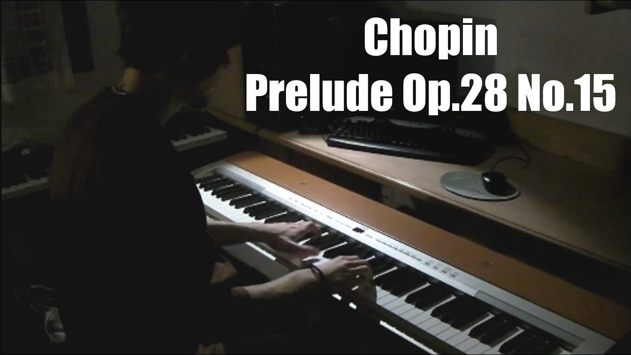 chopin raindrop prelude op 28 no 15 pdf