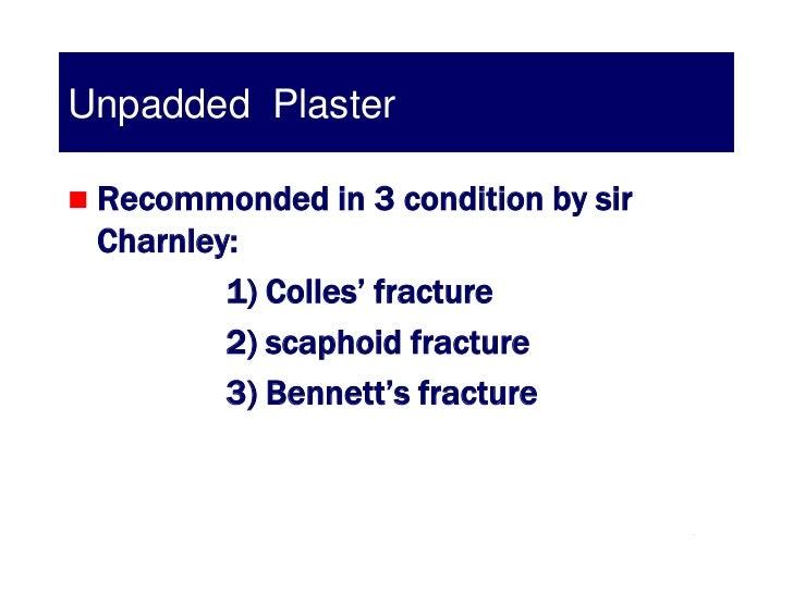 colles fracture cast application