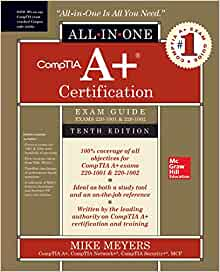 comptia a certification all in one exam guide compare edition