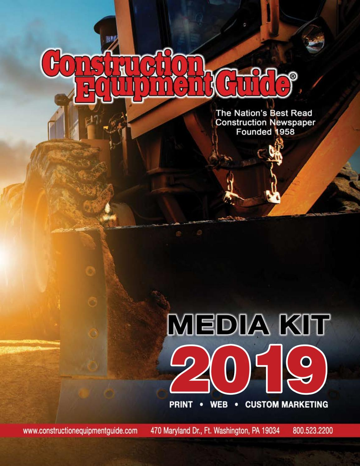 construction equipment guide media kit