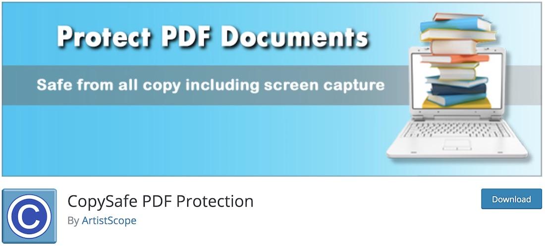 copysafe pdf reader