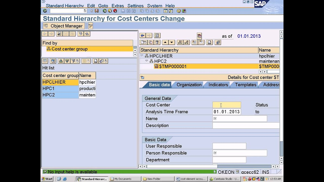 cost center accounting in sap pdf