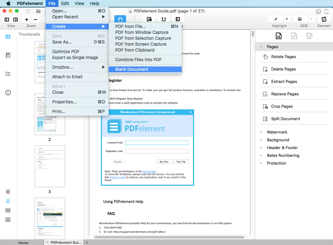 create pdf from images mac
