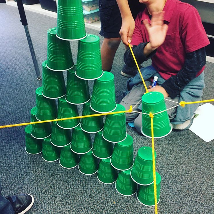 cup tower challenge pdf