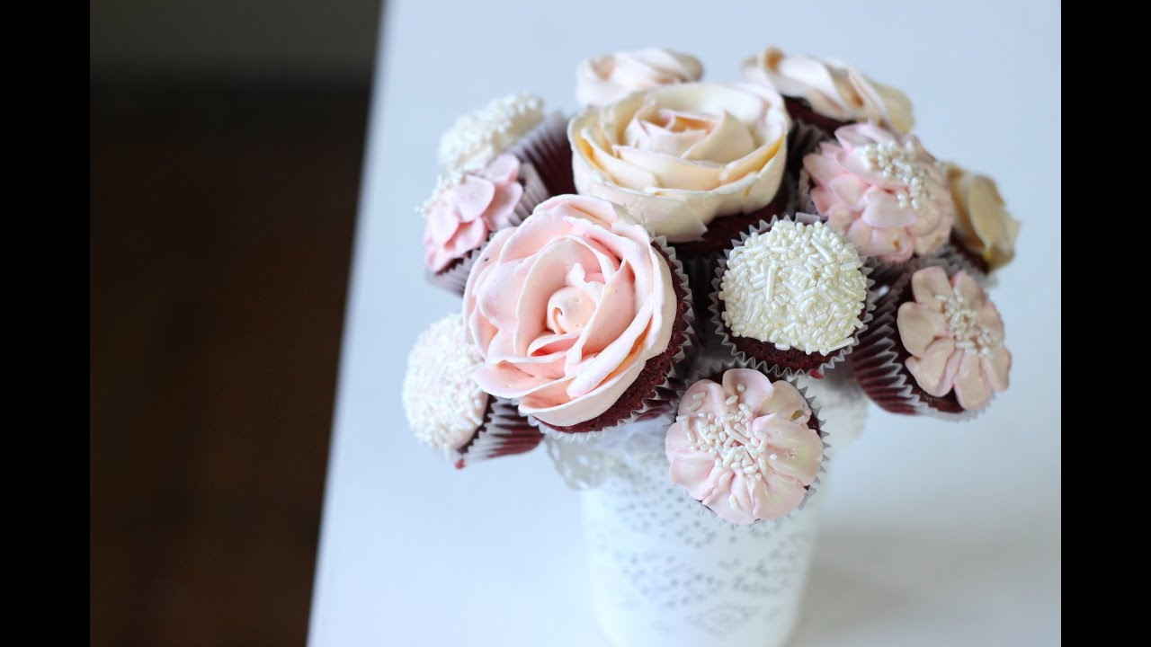 cupcake bouquet instructions