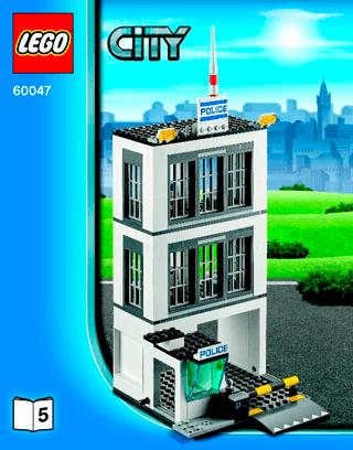 comisaria policia lego 60047 instructions