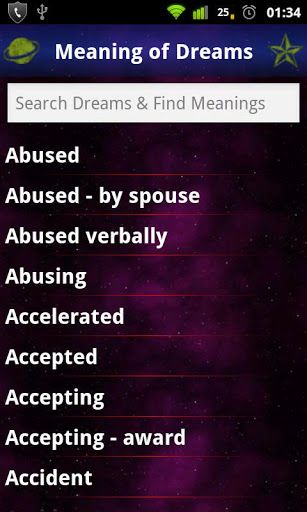 dream moods dictionary stabbed