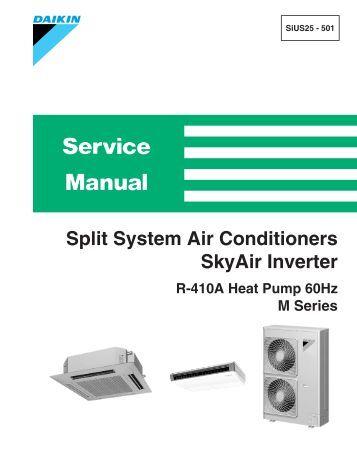 daikin rzq160lv1 installation manual