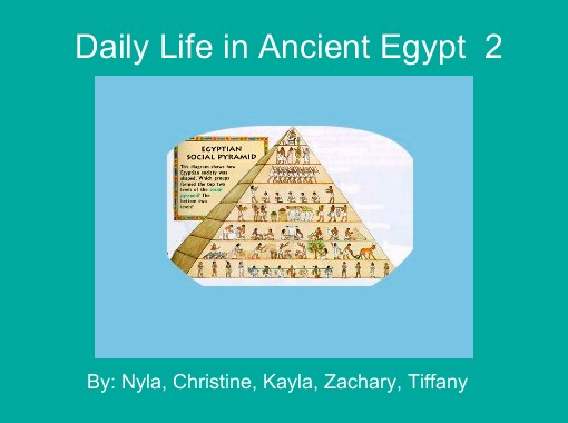 daily life in ancient egypt pdf