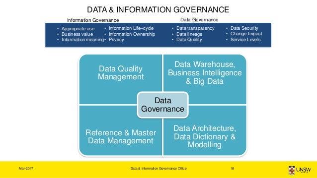 data governance data dictionary