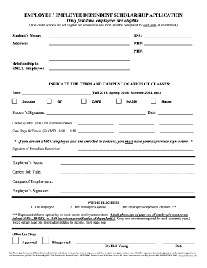 dcc ccc application form