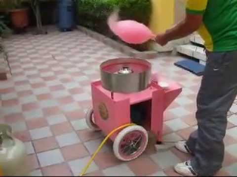 candy floss machine instructions